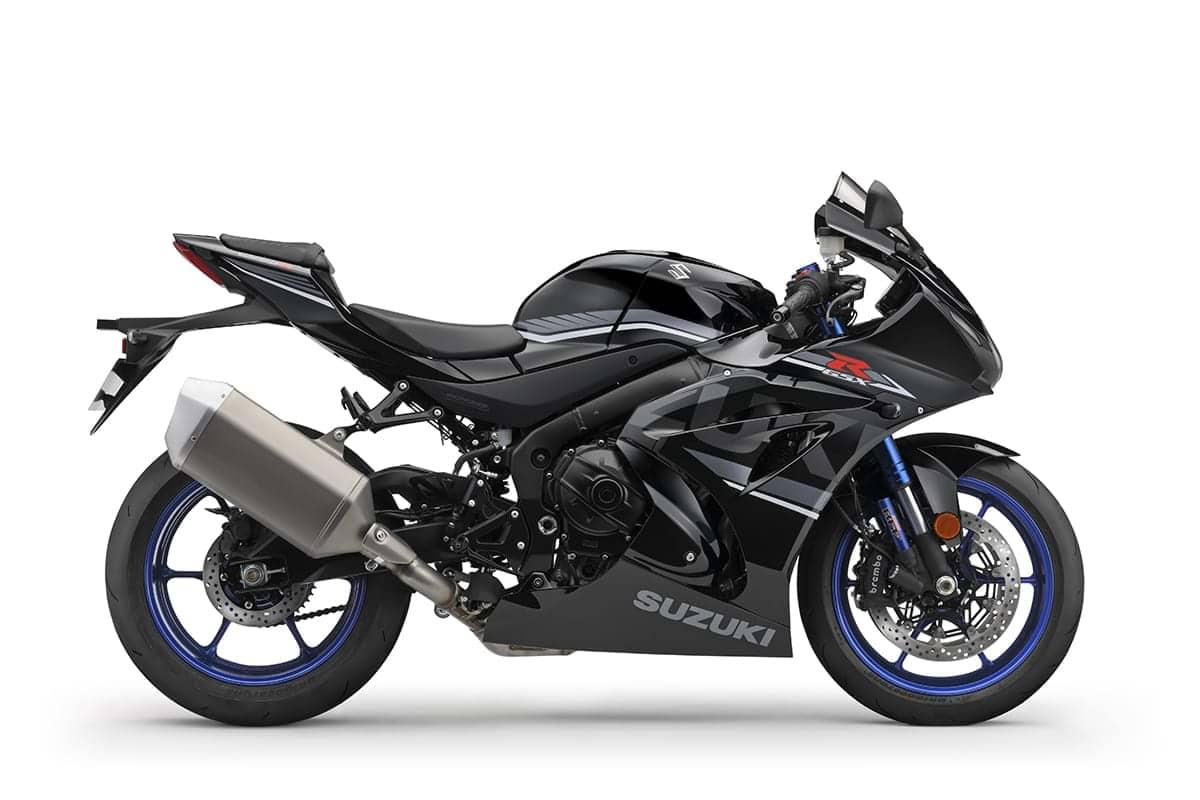 Suzuki GSX-R1000R motorcycle - side view