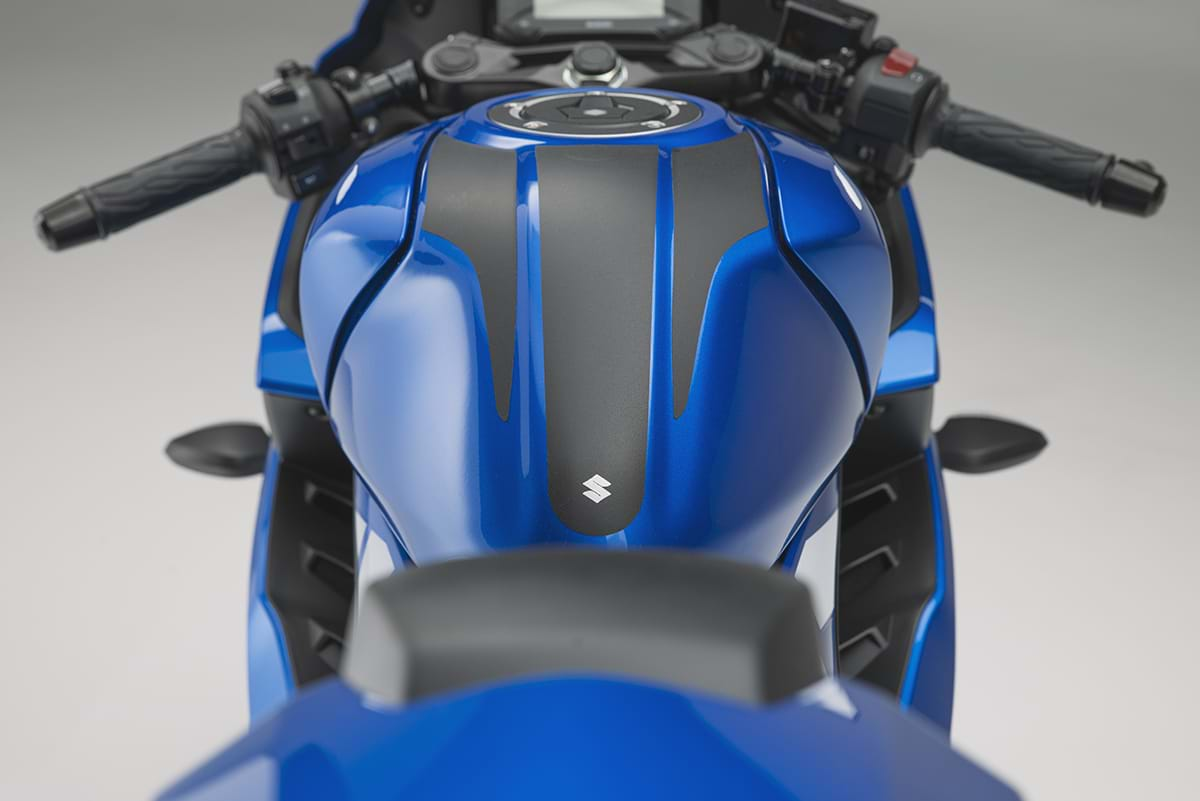 Suzuki GSX R125 motorcycle - back view