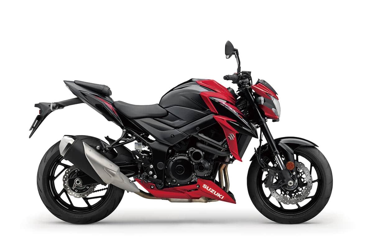 Suzuki GSX S750 motorcycle