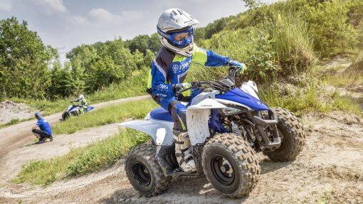 YFZ50 ATV - Racing Blue