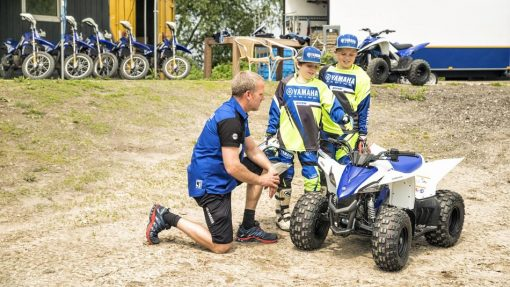 Yamaha YFZ50 ATV Racing Blue - impressions