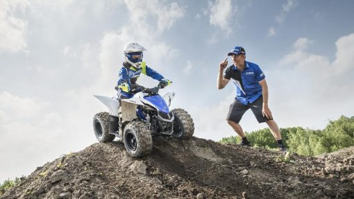 Yamaha YFZ50 Racing Blue - good time