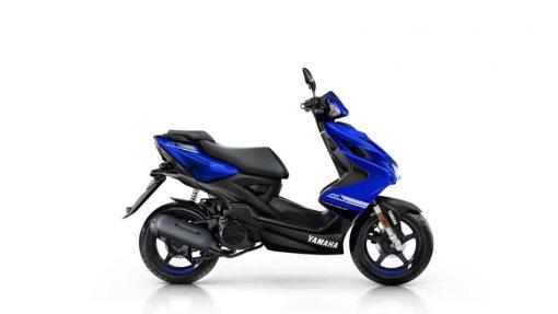 2018 Yamaha Aerox 4 - Yamaha Blue