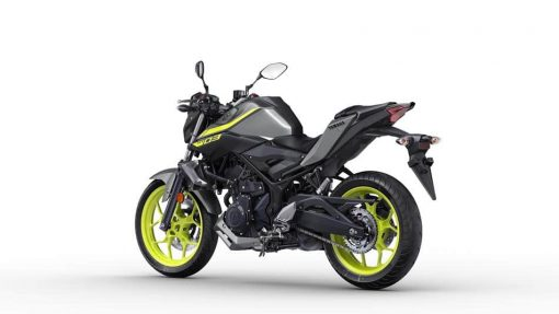 2018 Yamaha MT-03 motorbike Night Fluo