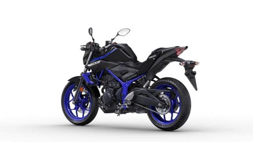 Yamaha MT-03 motorbike - Yamaha Blue