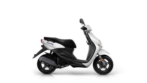2018 Yamaha Neo's 4 scooter - Competition White colour