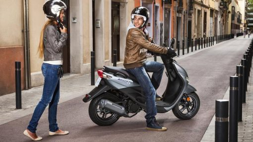 2018 Yamaha Neo's 4 scooter Nimbus Grey at Chelsea