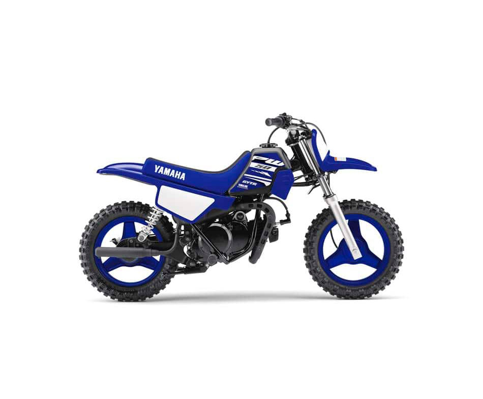 2018 Yamaha PW50 - kids mini bike, Racing Blue colour