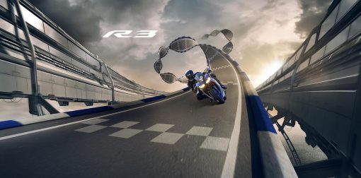 2018 Yamaha YZF-R3 motorcycle