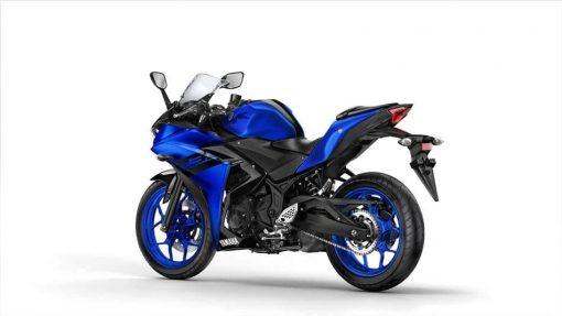 2018 Yamaha YZF-R3 motorcycle - Yamaha Blue