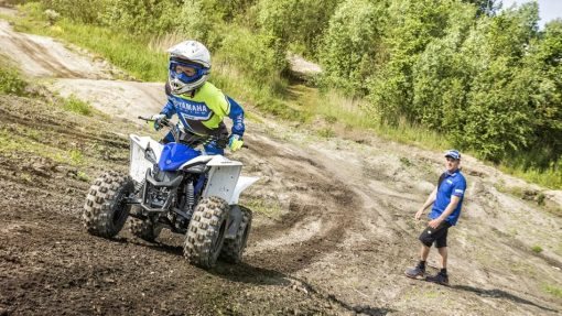 YFZ50 ATV Racing Blue - to the victory