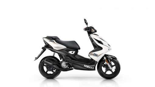 Yamaha Aerox R scooter, Absolute White colour