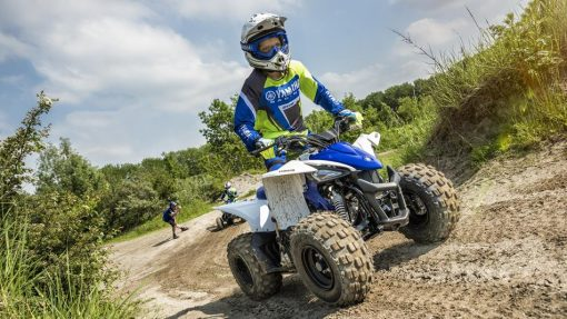 Yamaha YFZ50 ATV in action