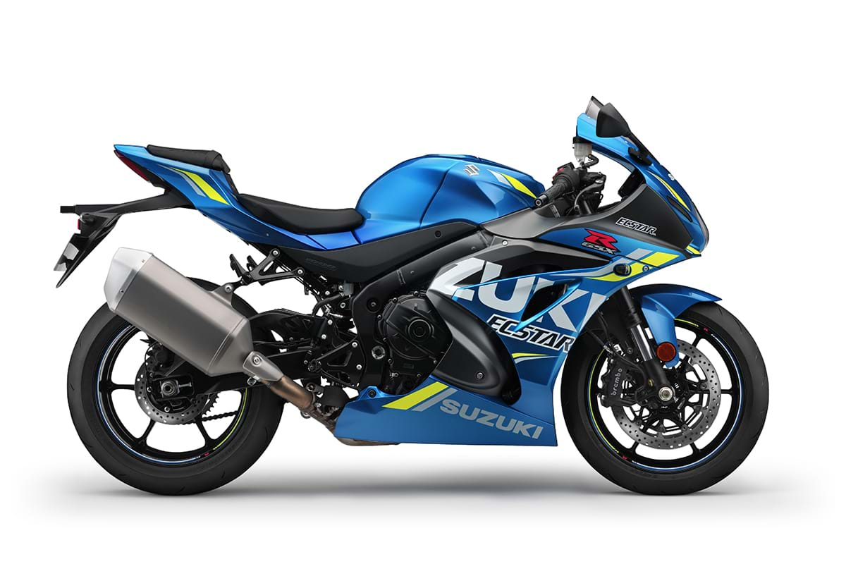 GSX R1000 - right view