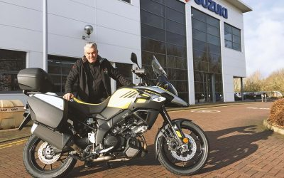 Suzuki to supply V-Strom 1000 fleet for Welsh Road Race marshals