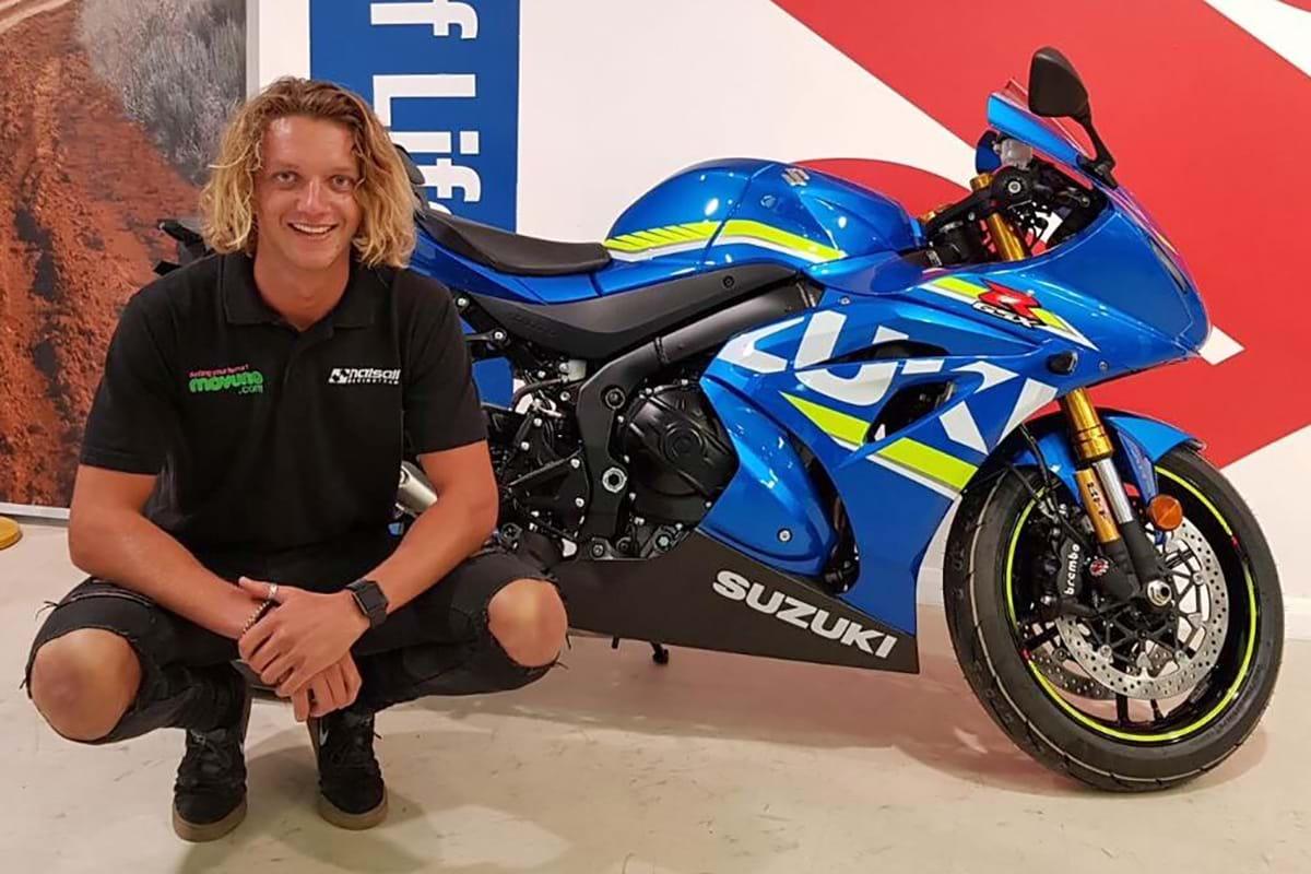New Suzuki GSX R1000 sport bike
