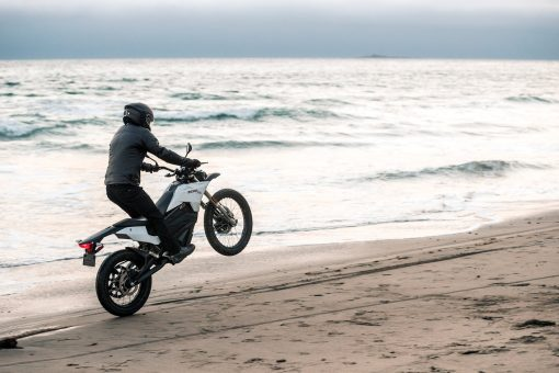 2018 Zero FX electric endurance motorbike - going to London