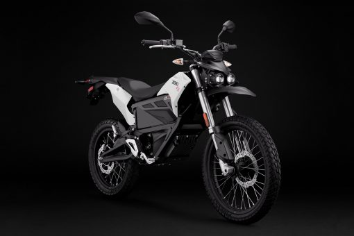 2018 Zero FX electric motorbike - studio