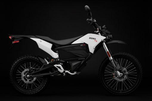2018 Zero FX electric motorcycle - studio, side view