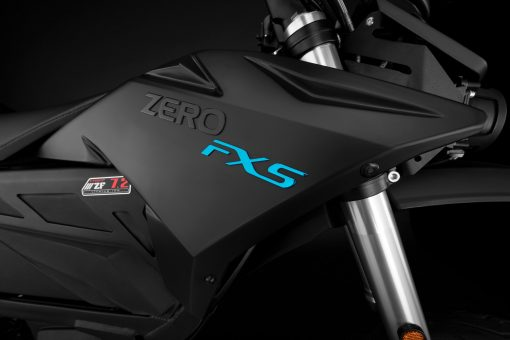 2018 Zero FXS electric supermotor detail - tank