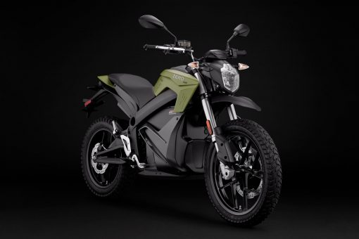 2018 Zero DS electric motorcycle - studio (ZF14.4)