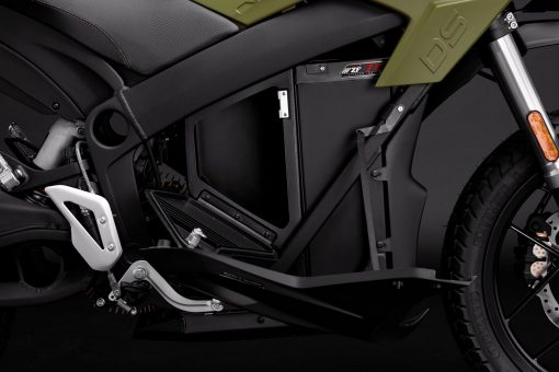 2018 Zero DS sport motorbike detail - ZF7.2, storage open