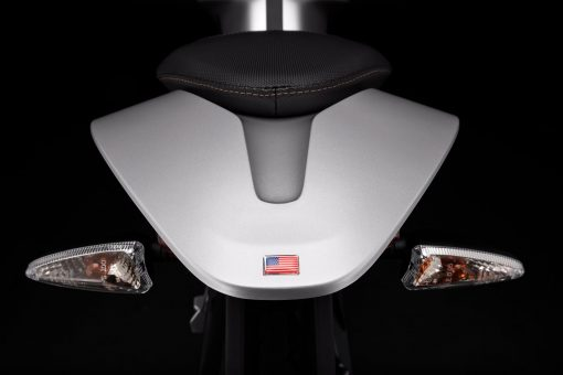 2018 Zero S electric motorcycle tail