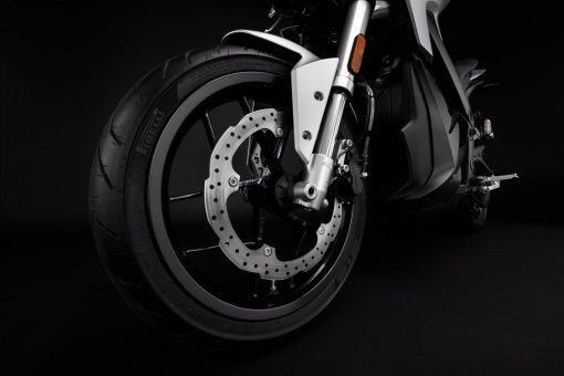 2018 Zero S motorcycle detail - front rotor