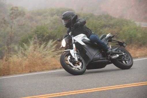 2018 Zero SR electric bike - outdoors