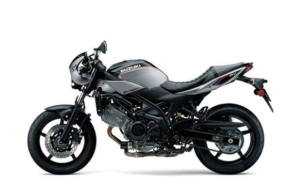 SV650X street motorbike - studio