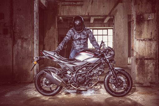 Suzuki SV650X motorcycle - ready to ride