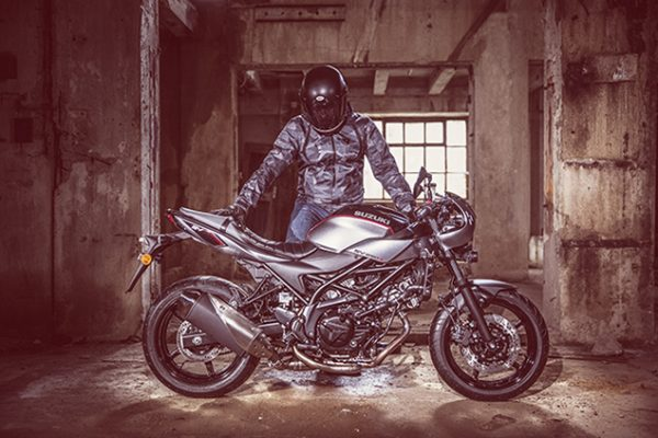 Suzuki SV650X motorcycle - ready to ride