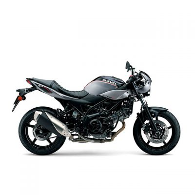 Suzuki SV650X street motorcycle - side view