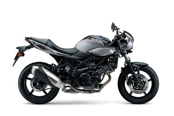 Suzuki SV650X street motorcycle - side view