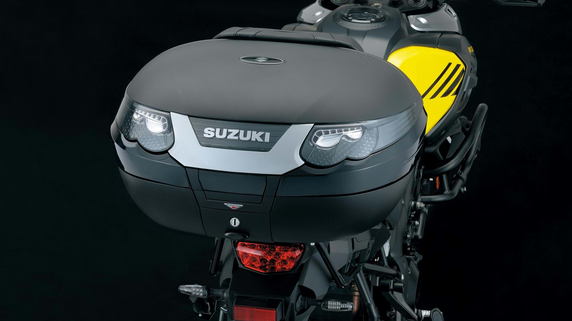 Suzuki V-Strom 1000 touring bike - Explorer pack