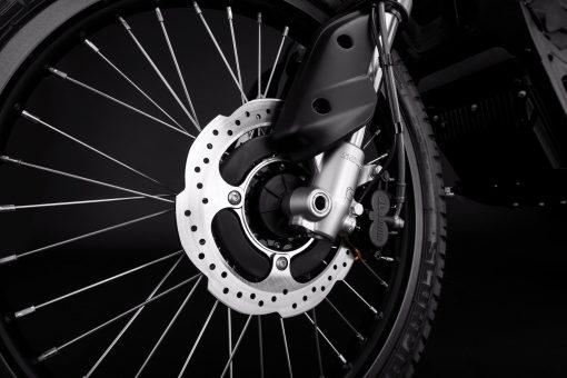 Zero FX bike - detail, front brake