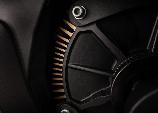 Zero FX motorcycle detail - motor
