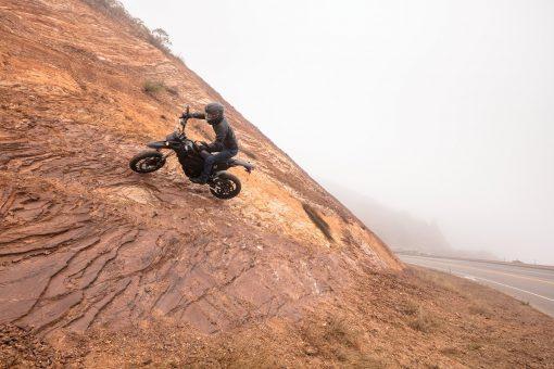 Zero FXS motorbike outdoors - ride