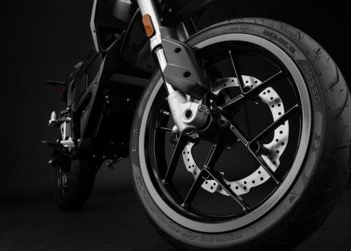 Zero FXS motorcycle detail - wheel