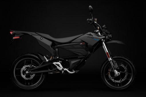 Zero FXS motorcycle - studio, side view