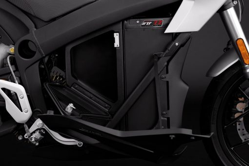 Zero S street bike detail -ZF72 storage open