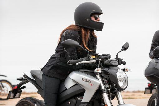 Zero S smart streetfighter motorbike