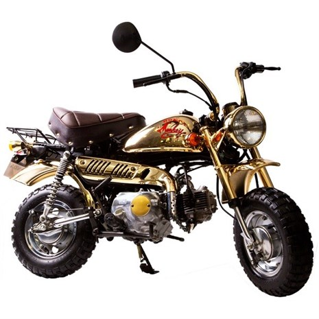 1984 Honda Monkey motorbike - gold limited model