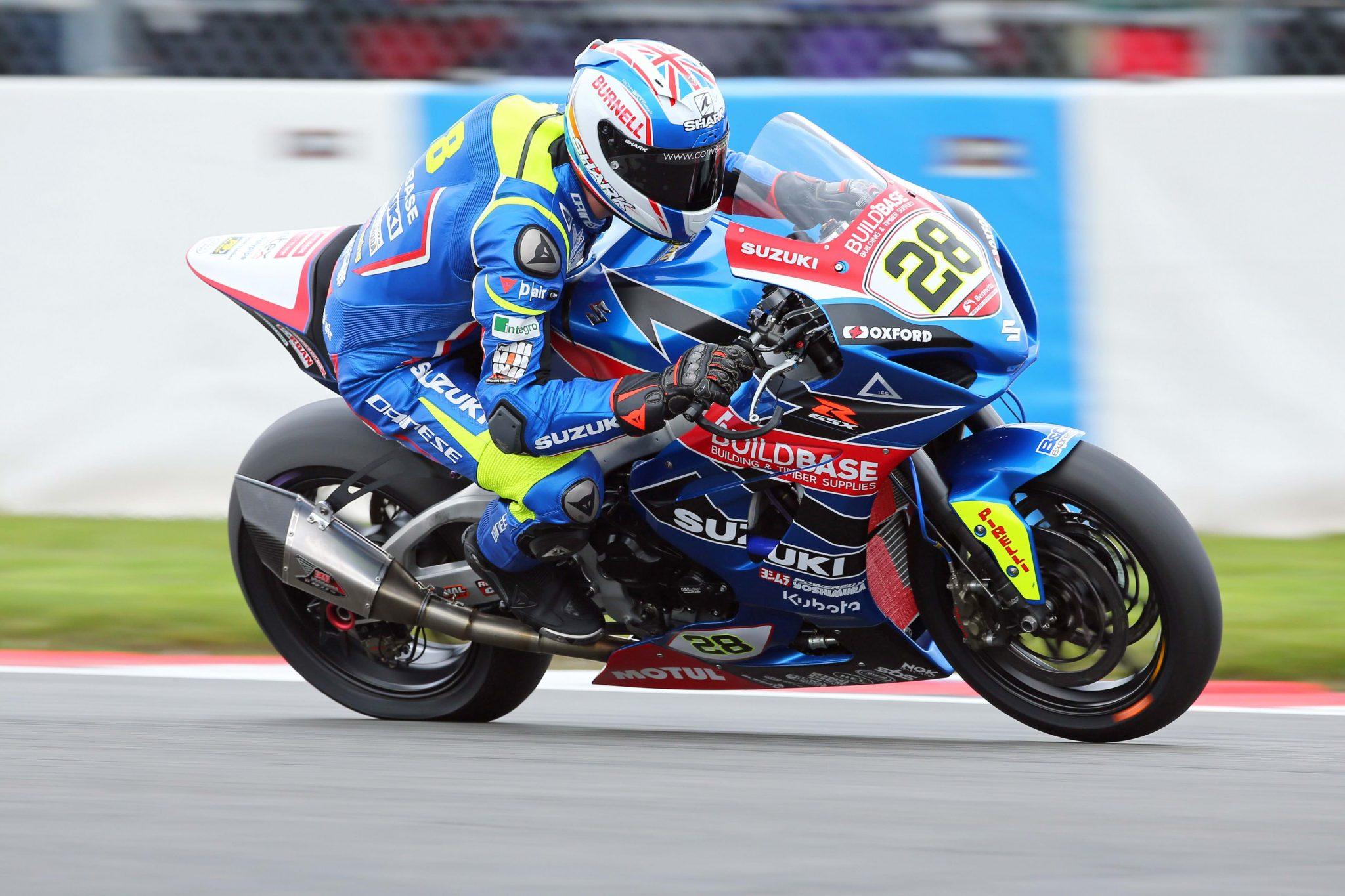 Brad Ray on Suzuki GSX-R1000 sport bike - race