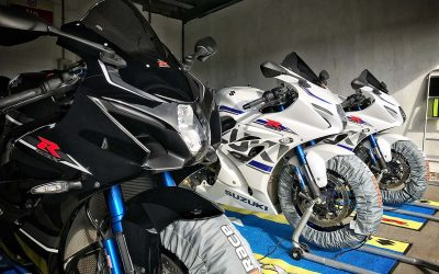 First GSX-R1000R test ride day a success with James Whitham track days