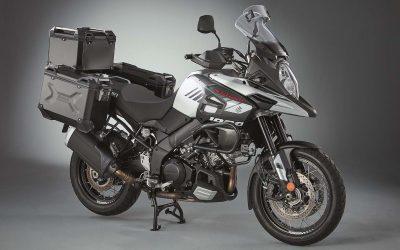 Save with new V-Strom 1000 aluminium luggage set