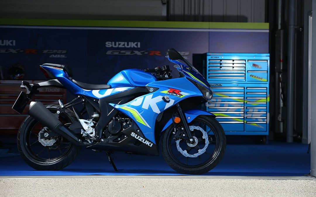 GSX-R125 fastest in MCN Group Test