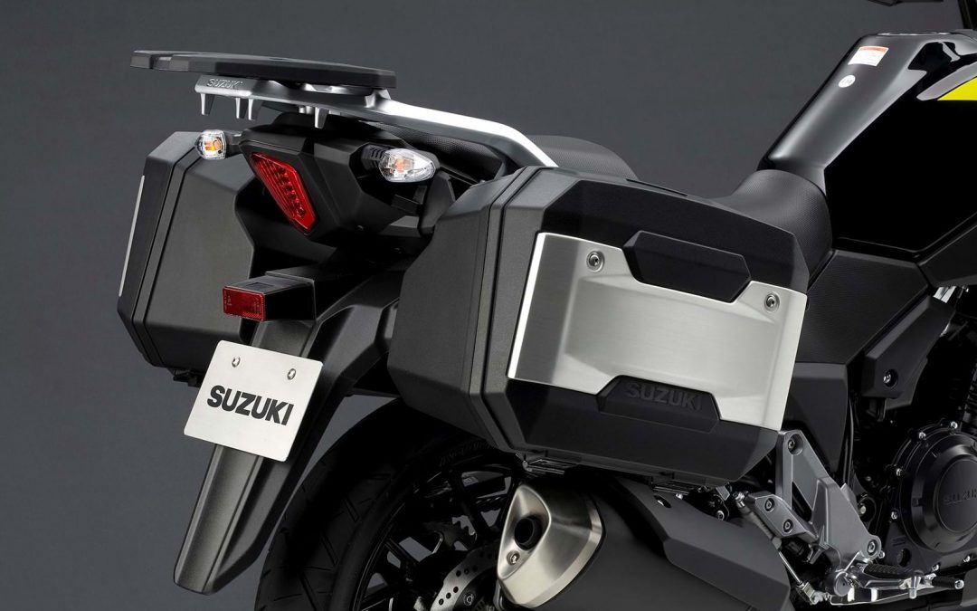 Free luggage with V-Strom 250
