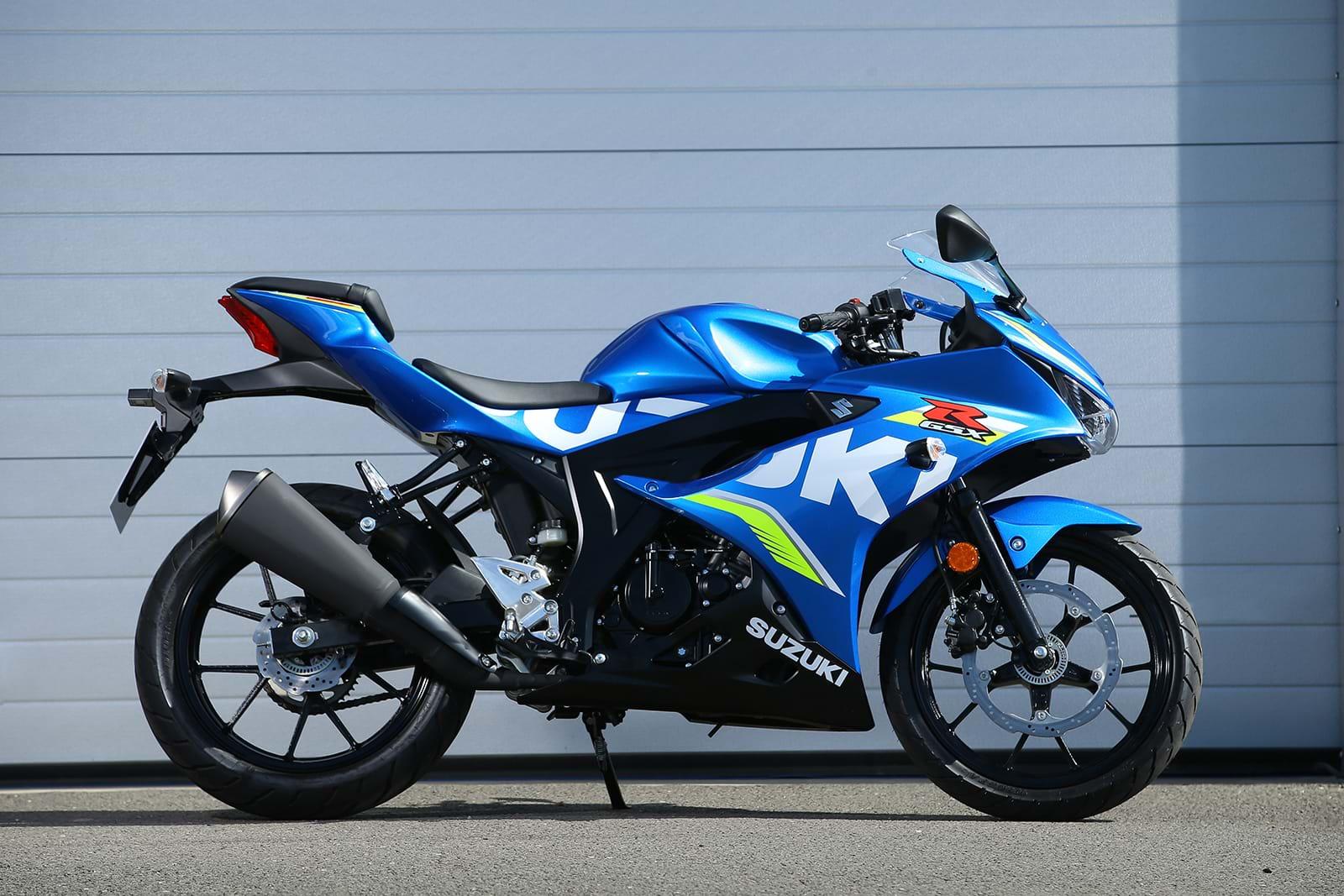 Suzuki GSX R125 motorbike, Chelsea, 2018