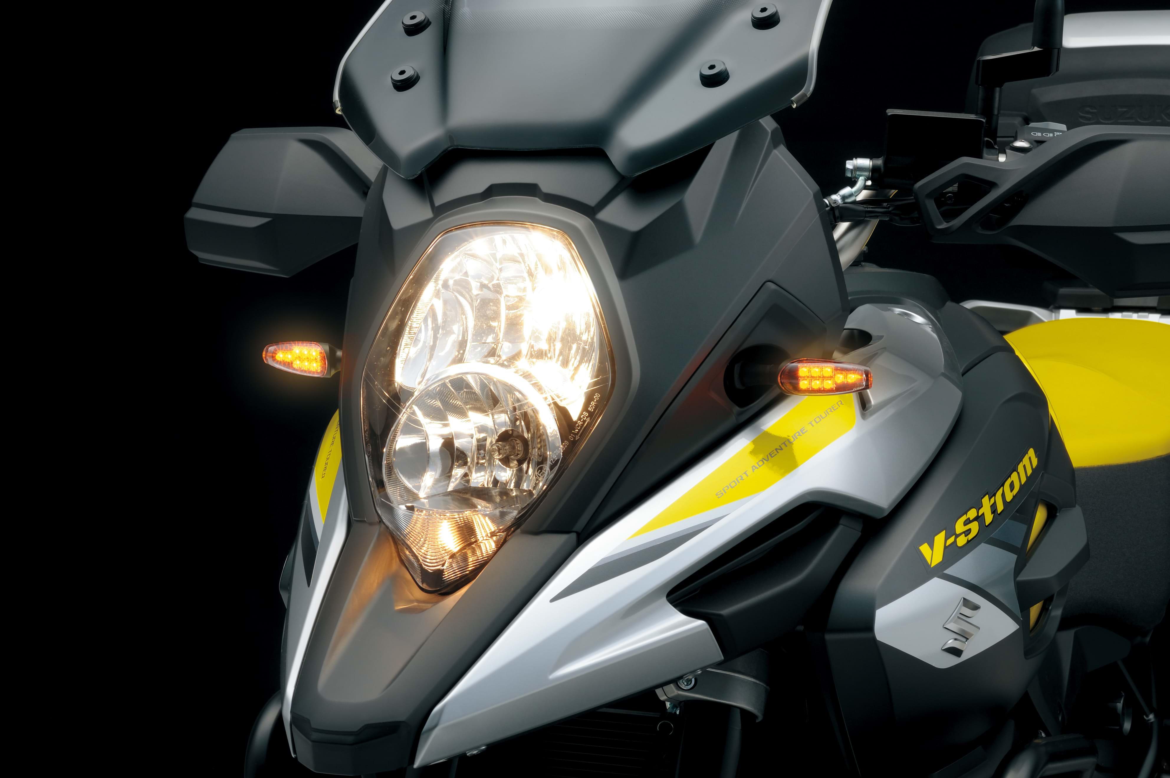Suzuki V-Strom 1000XT bike lights